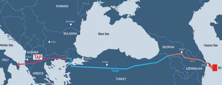 SUMMARY/ краткое изложение The Southern Gas Corridor Will Determine The Future Of The Region The Middle East, Caspian Sea and Central Asia s rapidly changing economic conditions, emerging development