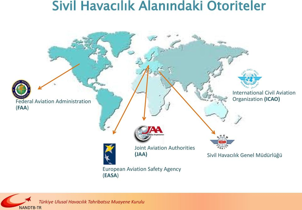 Organization (ICAO) Joint Aviation Authorities (JAA)