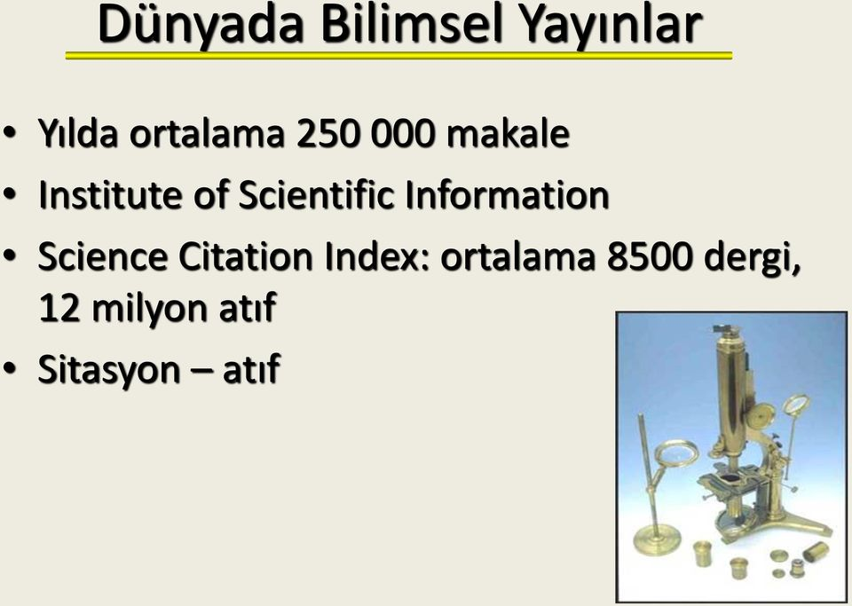 Information Science Citation Index: