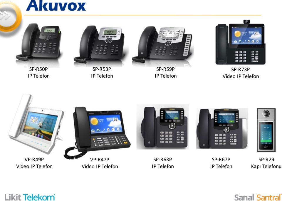 Video IP Telefon VP- R47P Video IP Telefon SP-
