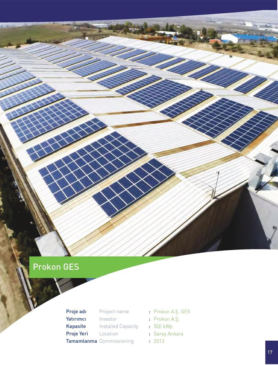 GES  500 kwp