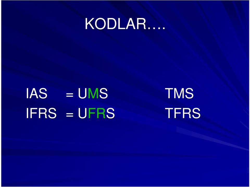 TMS IFRS =