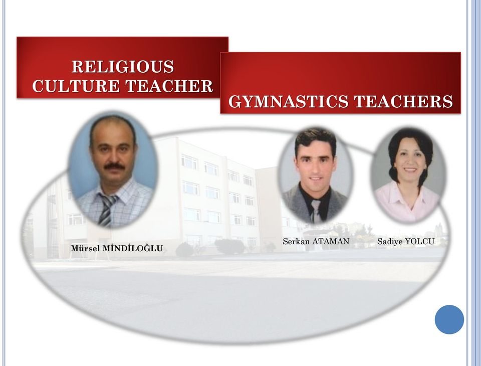 TEACHERS Mürsel