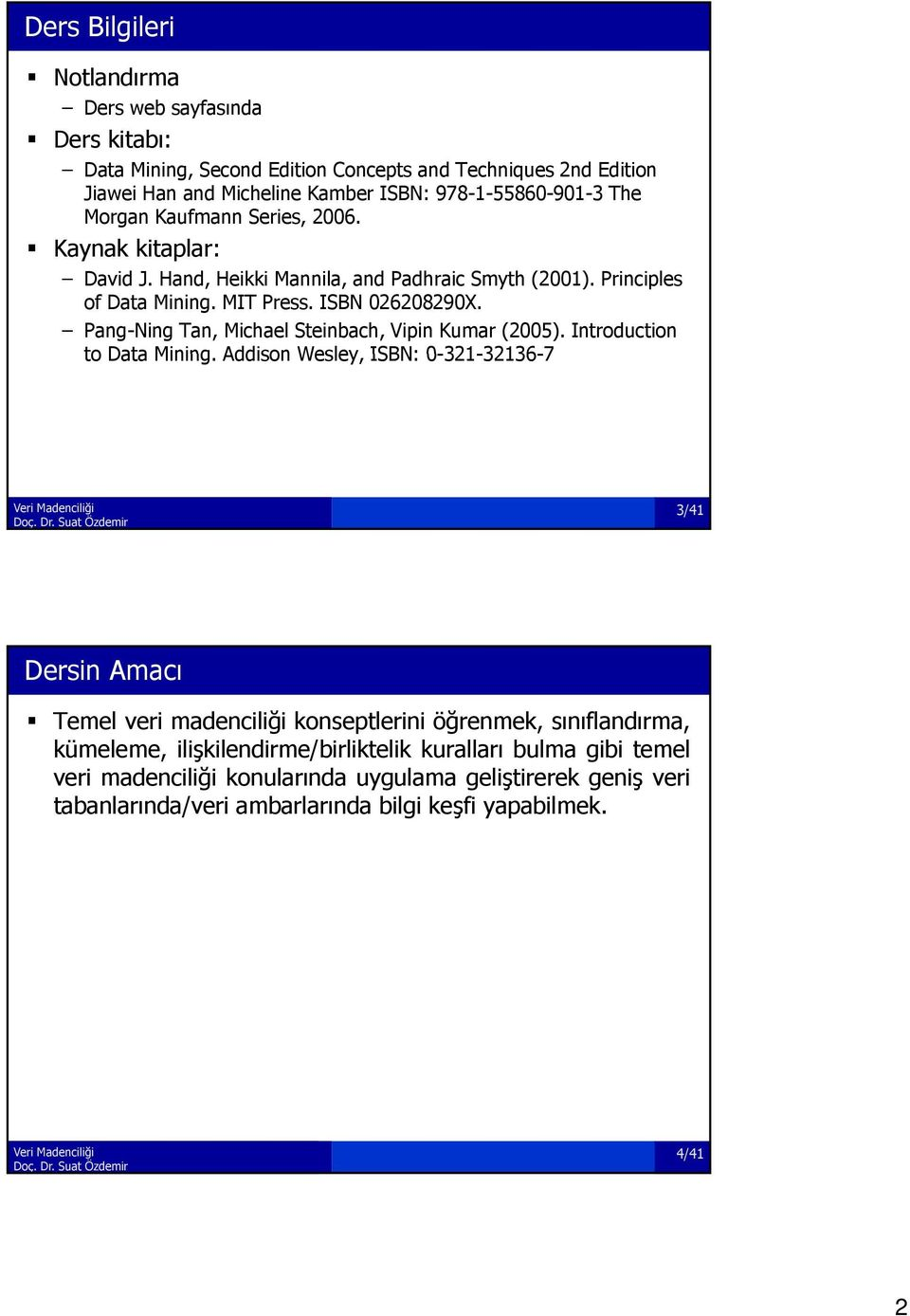 Pang-Ning Tan, Michael Steinbach, Vipin Kumar (2005). Introduction to Data Mining.
