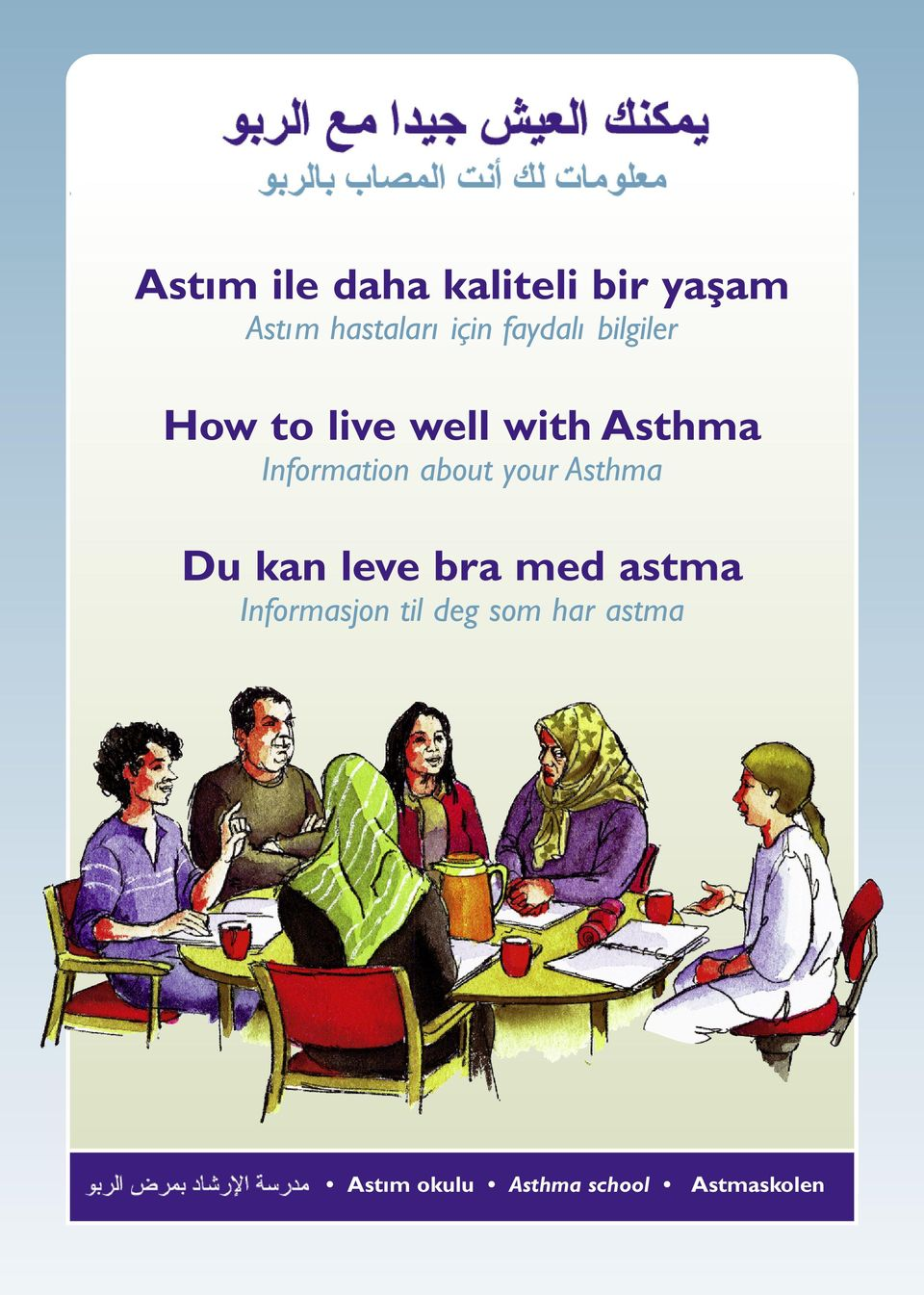 Information about your Asthma Du kan leve bra med astma