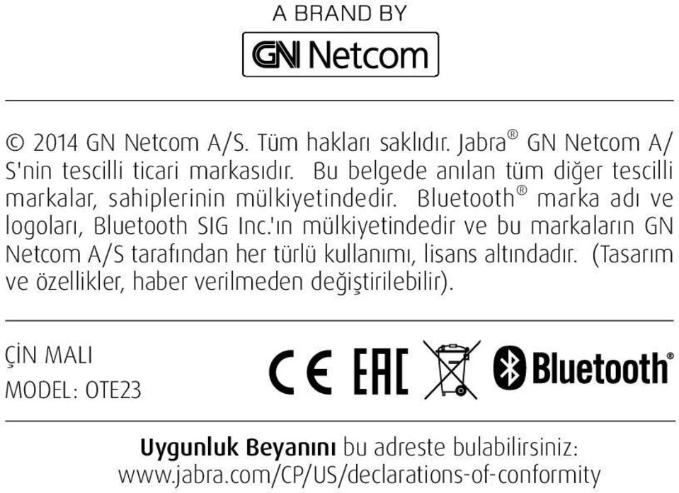 Bluetooth marka adı ve logoları, Bluetooth SIG Inc.