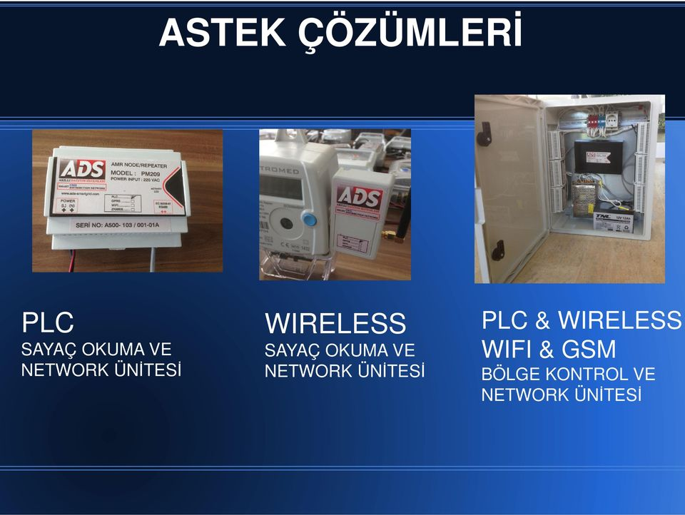 VE NETWORK ÜNİTESİ PLC & WIRELESS