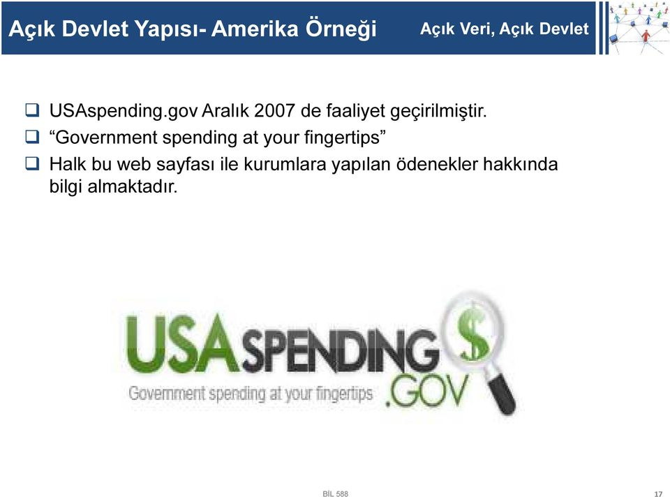Government spending at your fingertips Halk bu web