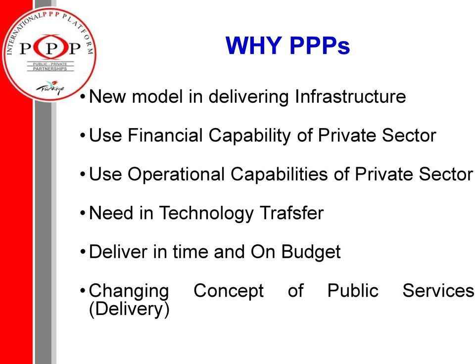 Capabilities of Private Sector Need in Technology Trafsfer