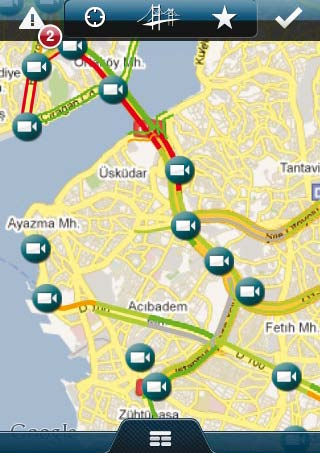 52 İBB Trafik This application is very handy for those who want to get out of traffic.