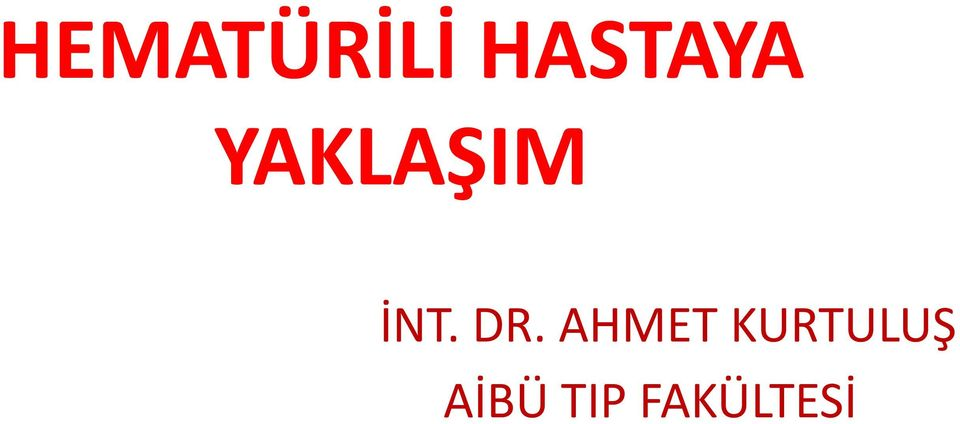 İNT. DR.