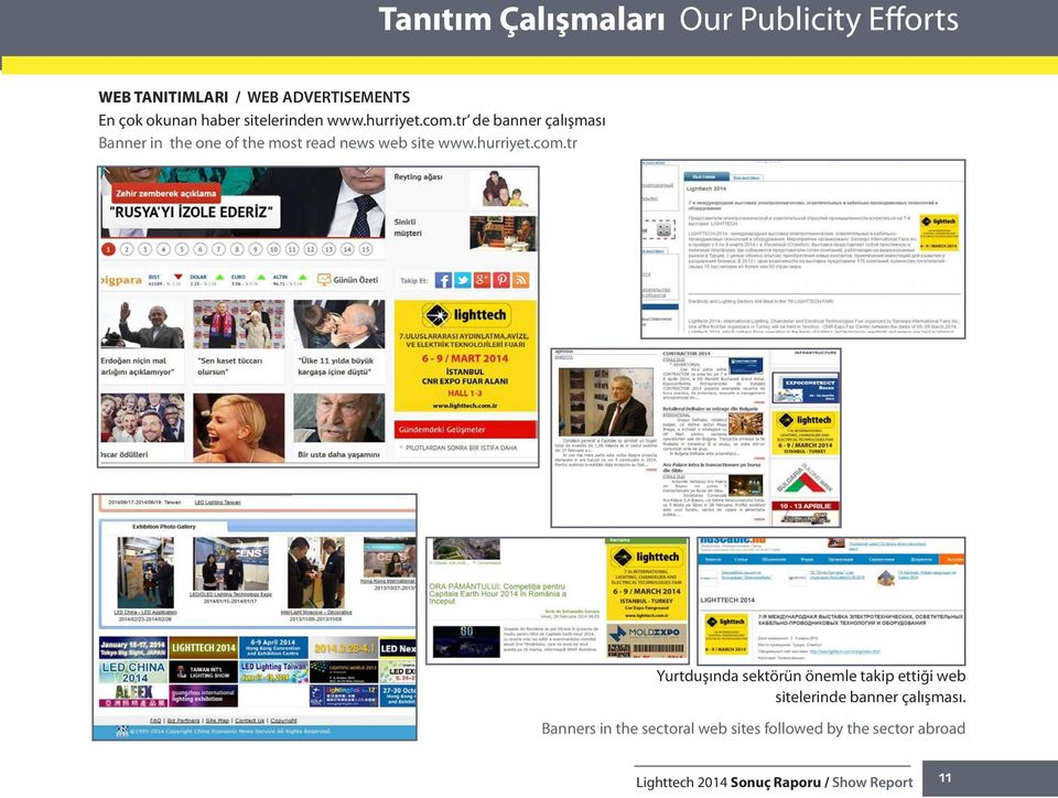 tr de banner çalışması Banner in the one of the most read news web site www.hurriyet.com.