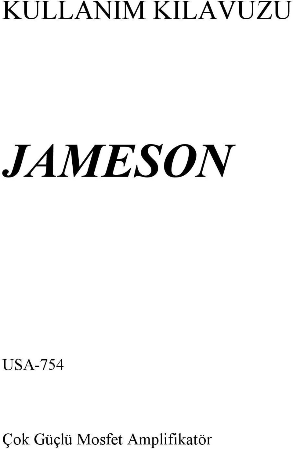 JAMESON USA-754