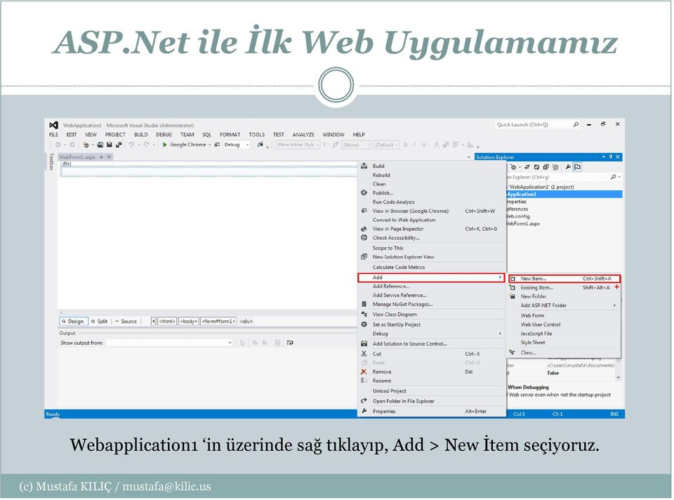 Webapplication1 in