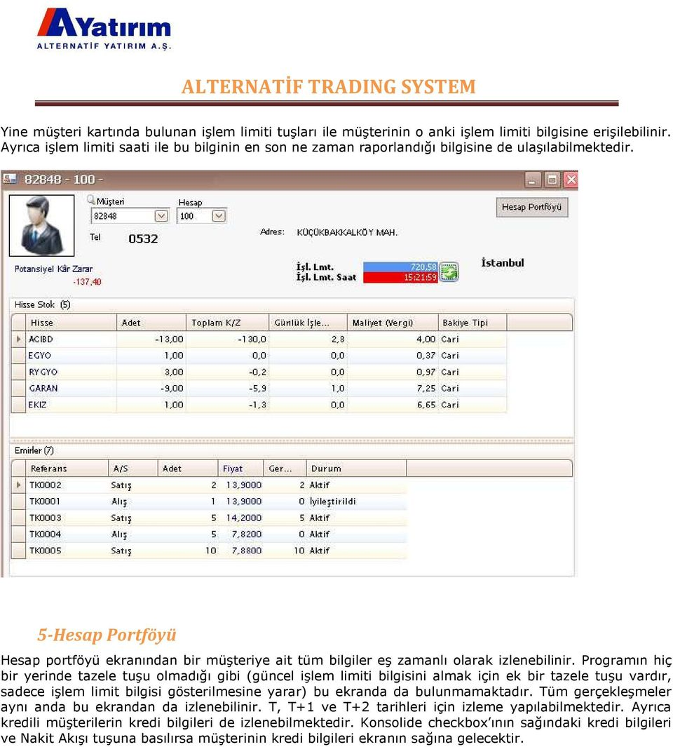 Ait trading system