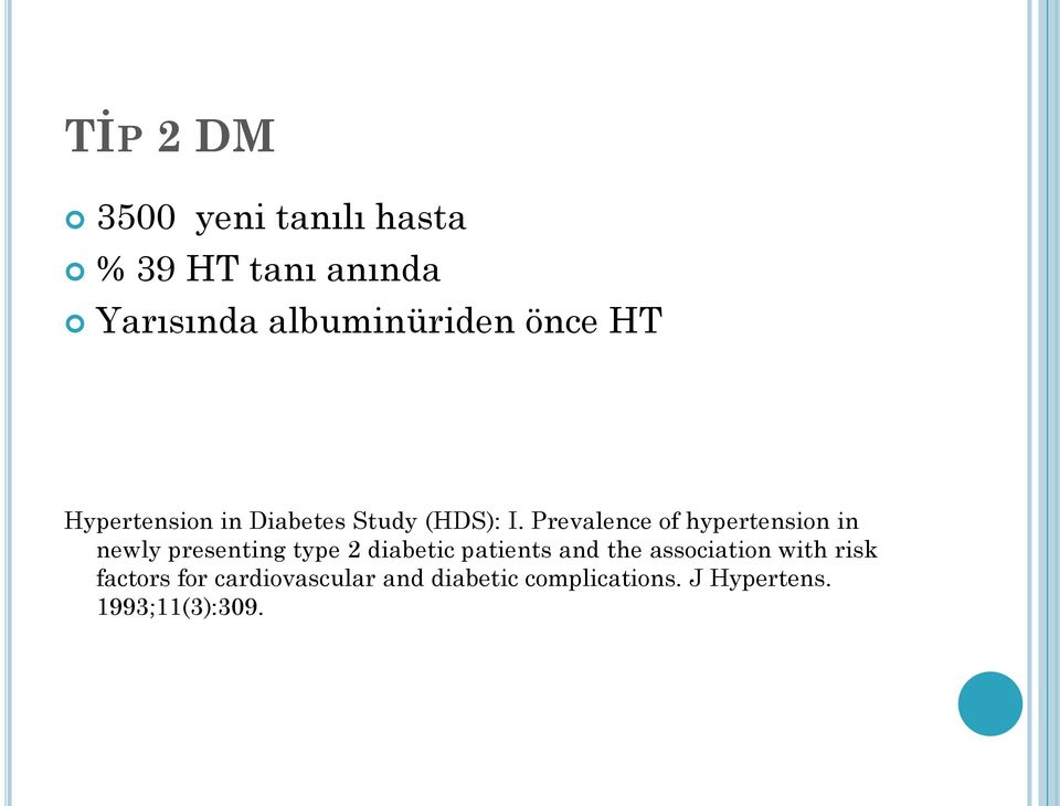 Prevalence of hypertension in newly presenting type 2 diabetic patients and