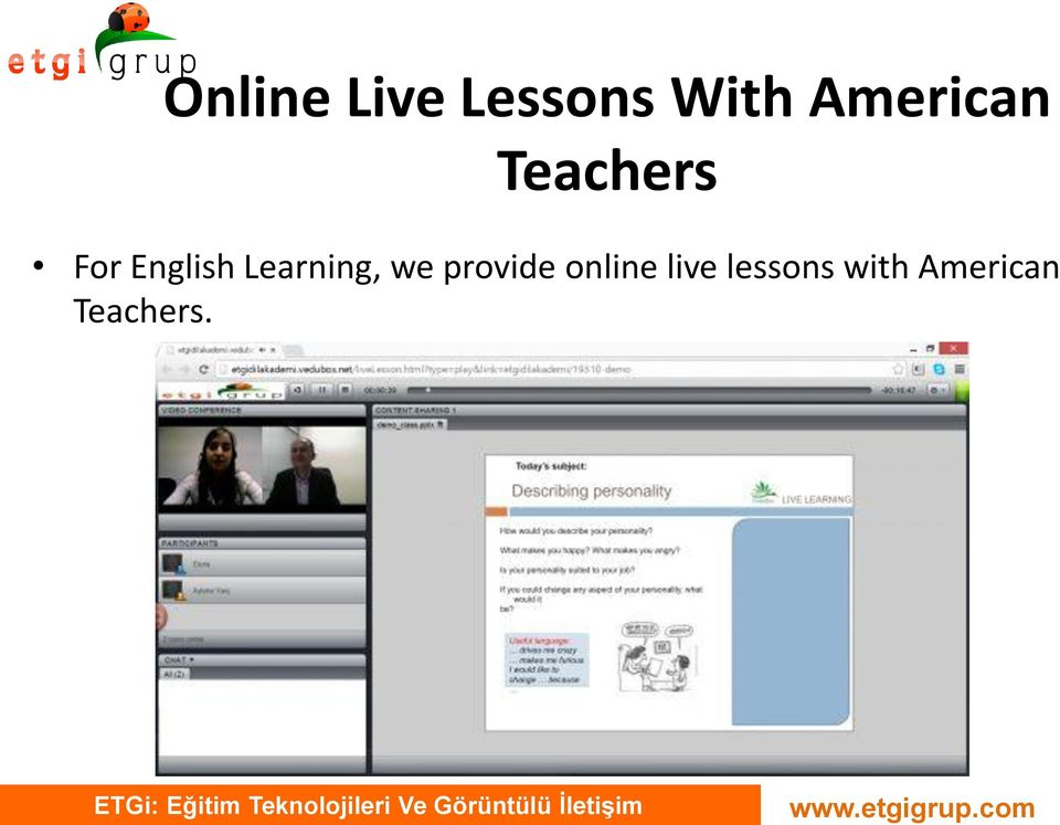 Learning, we provide online