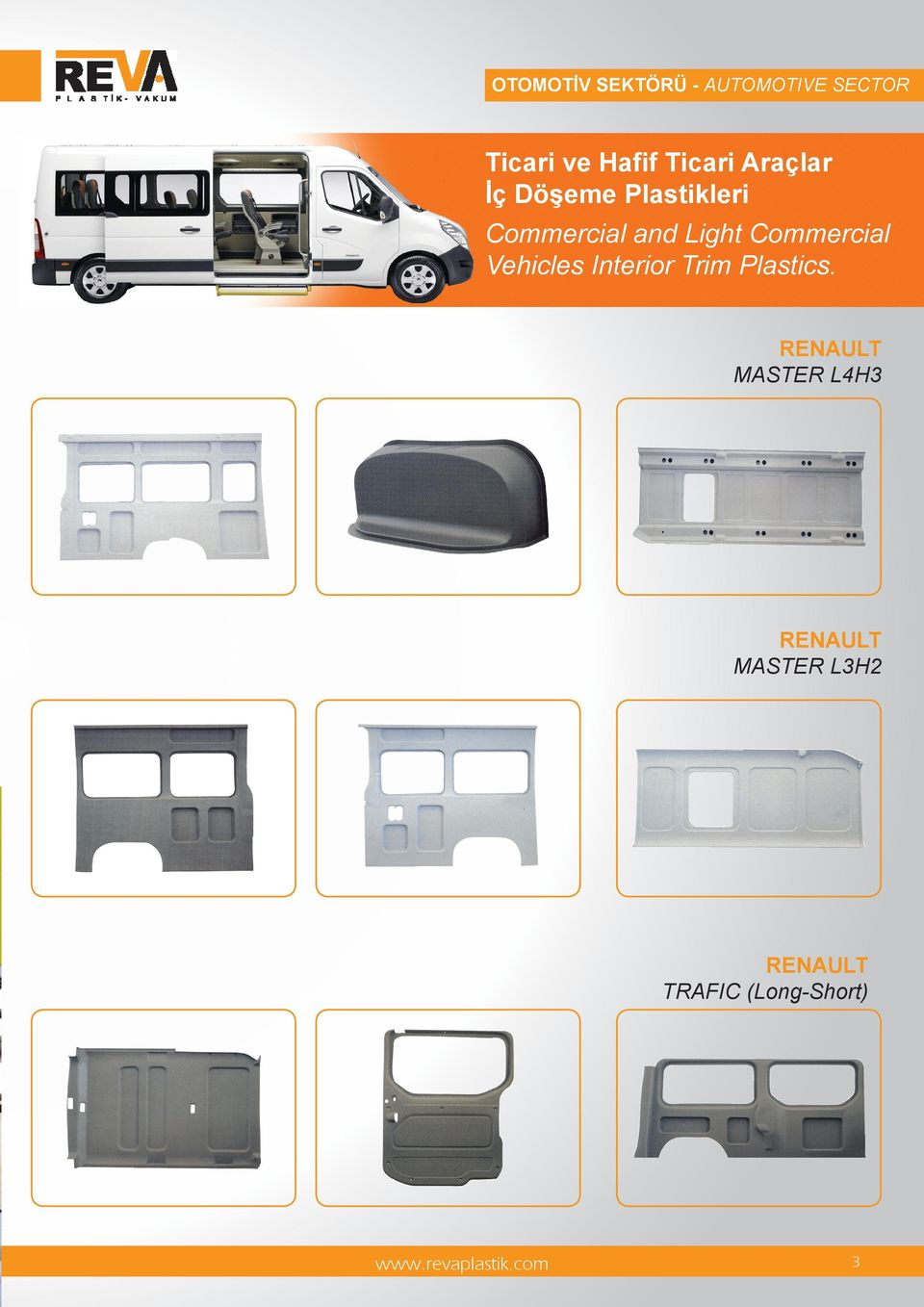 Light Commercial Vehicles Interior Trim Plastics.