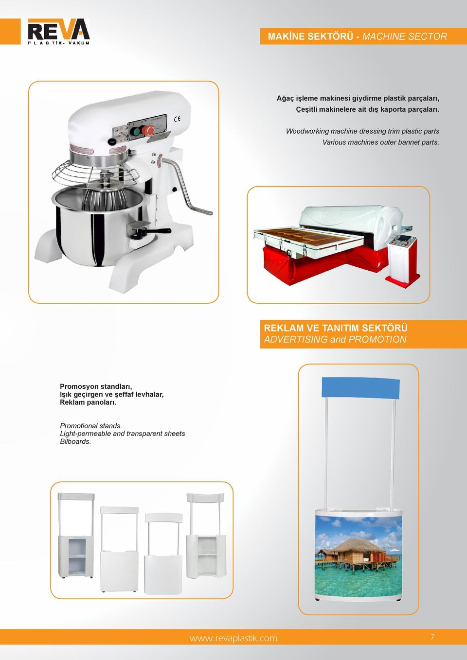 Woodworking machine dressing trim plastic parts Various machines outer bannet parts.