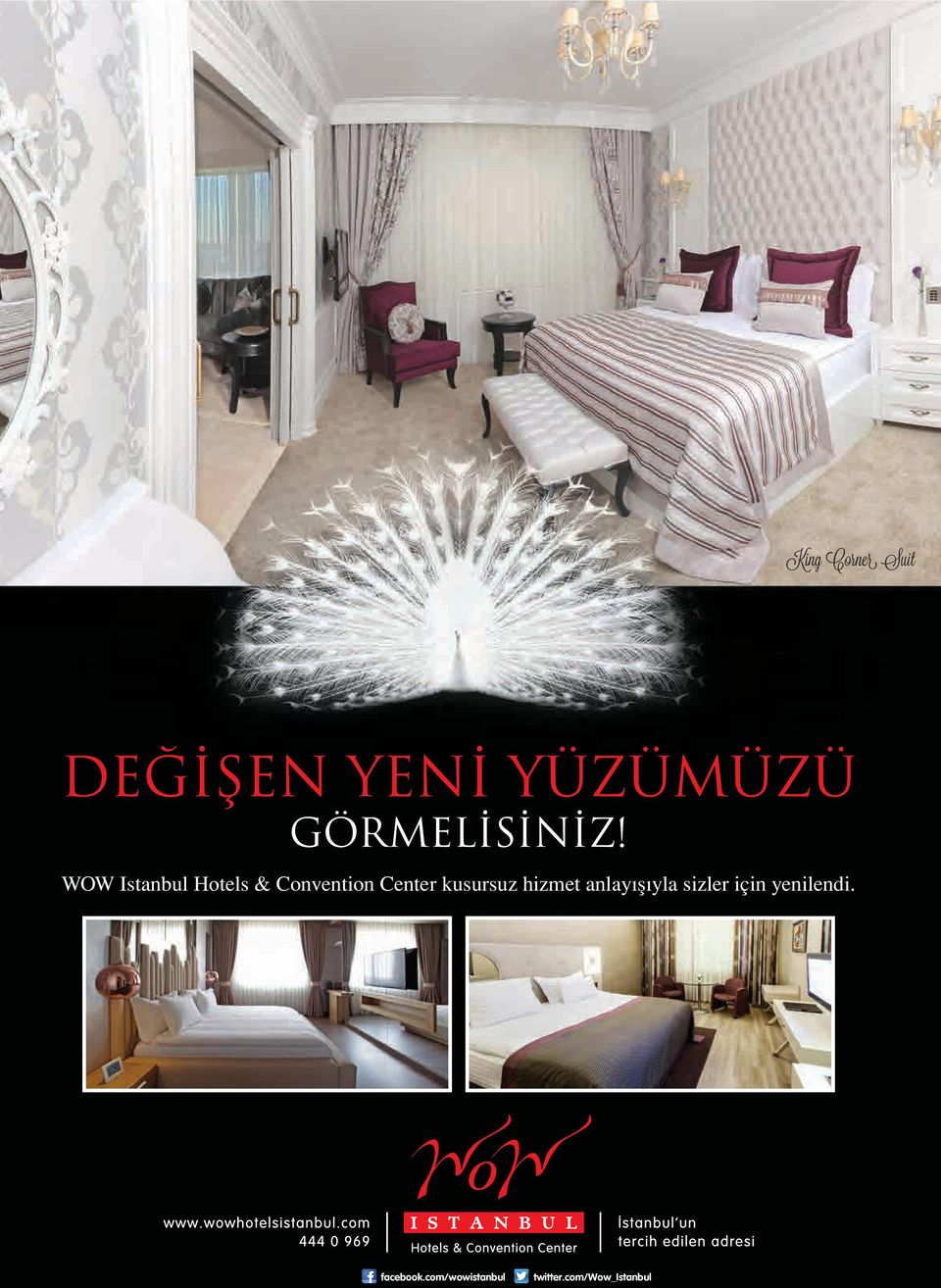 WOW Istanbul Hotels & Convention Center kusursuz