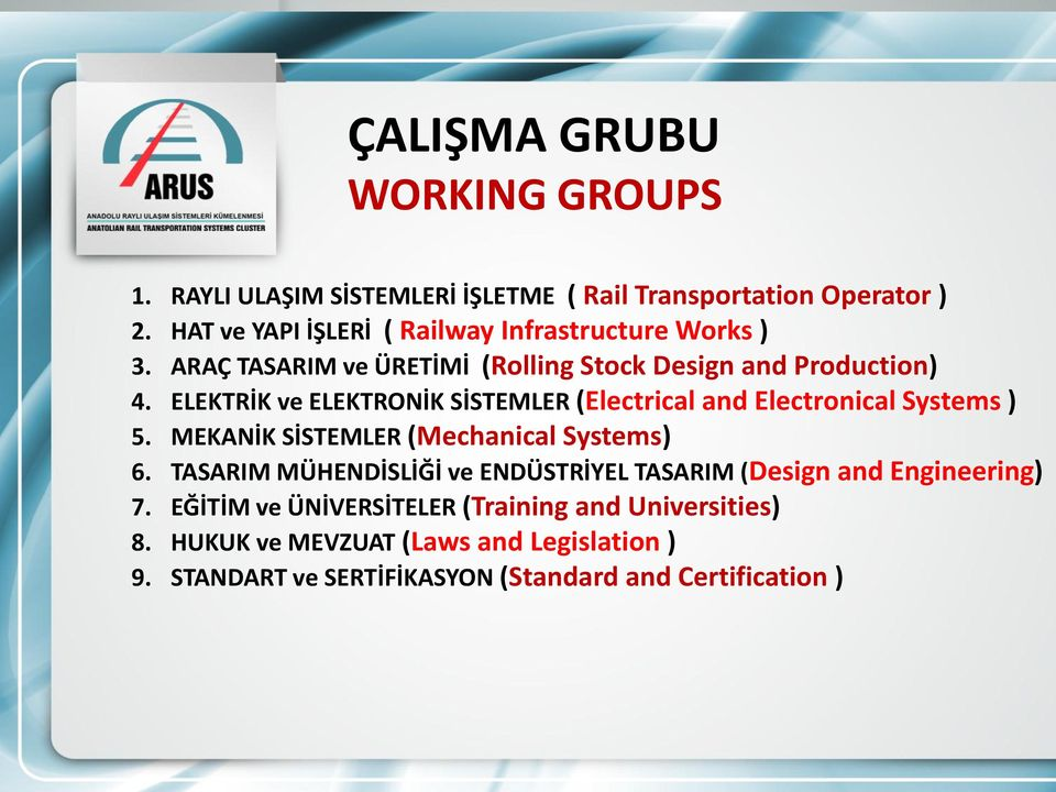 ELEKTRİK ve ELEKTRONİK SİSTEMLER (Electrical and Electronical Systems ) 5. MEKANİK SİSTEMLER (Mechanical Systems) 6.