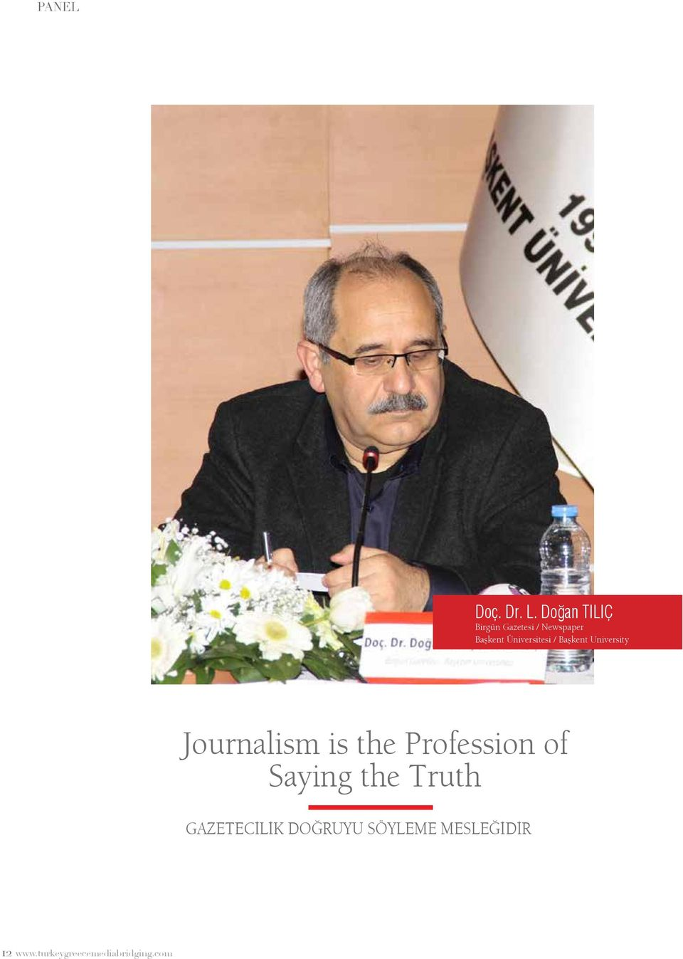 Üniversitesi / Başkent University Journalism is the