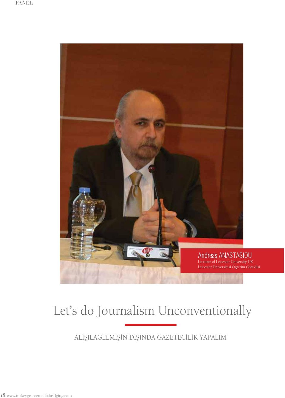 Let s do Journalism Unconventionally Alışılagelmİşİn