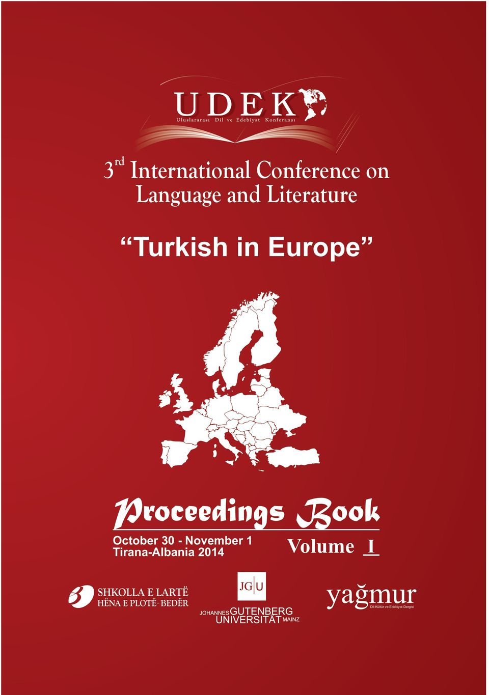 Proceedings Book October 30 - November 1