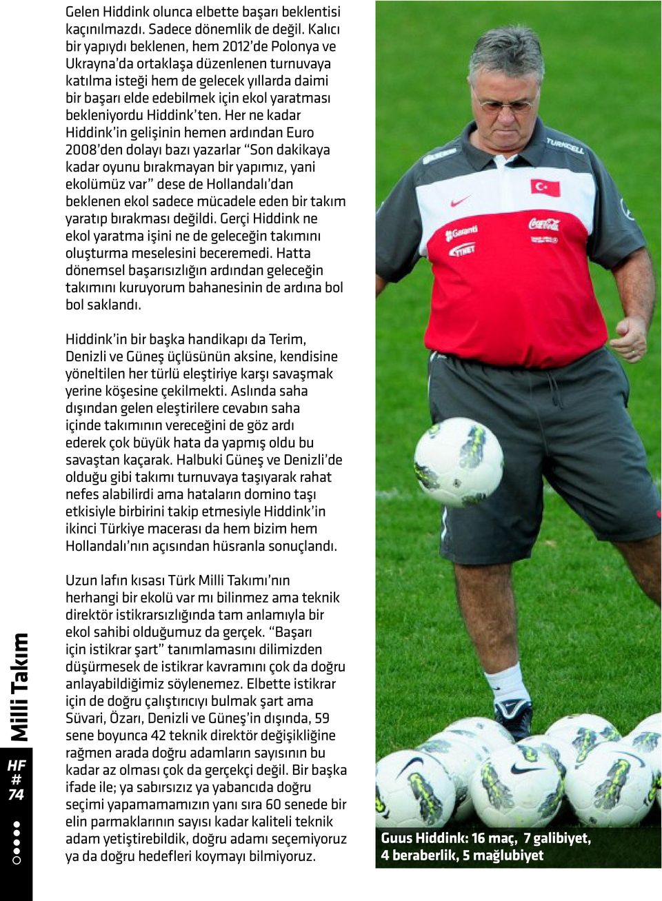 Hiddink ten.