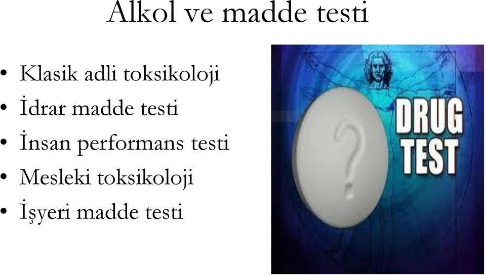 testi İnsan performans testi