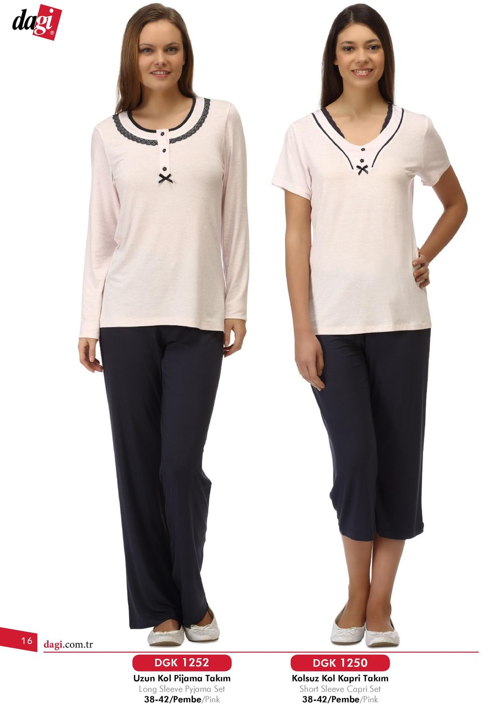 Takım Long Sleeve Pyjama Set