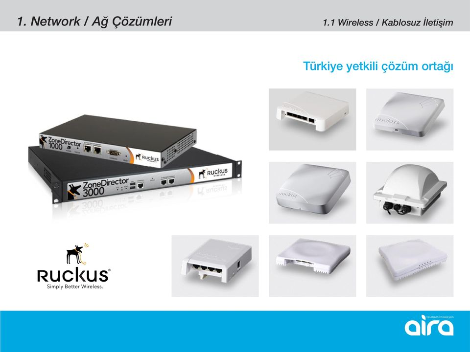 1 Wireless / Kablosuz