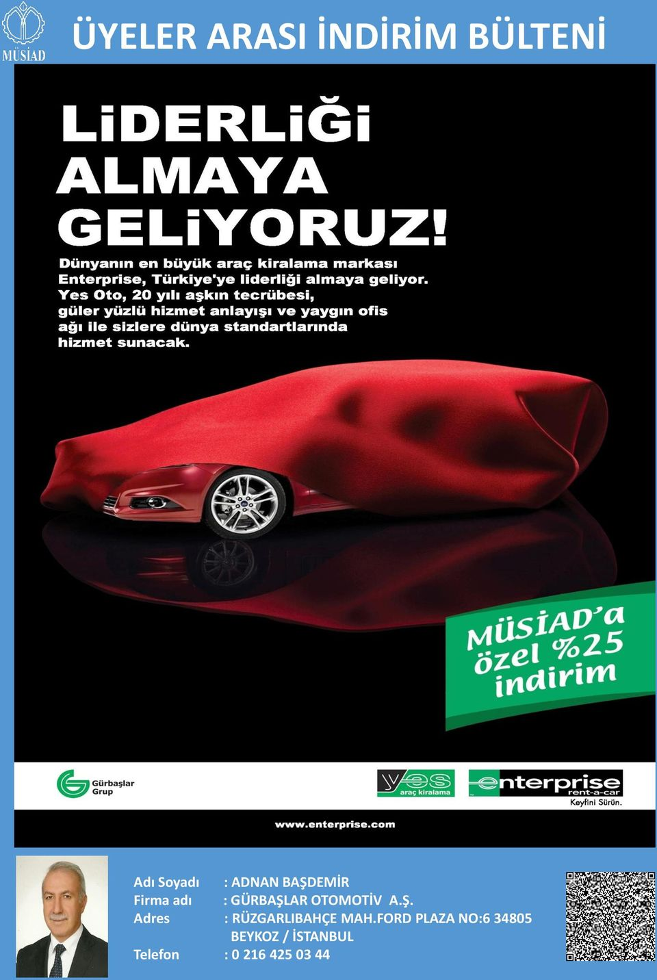 FORD PLAZA NO:6 34805 BEYKOZ /