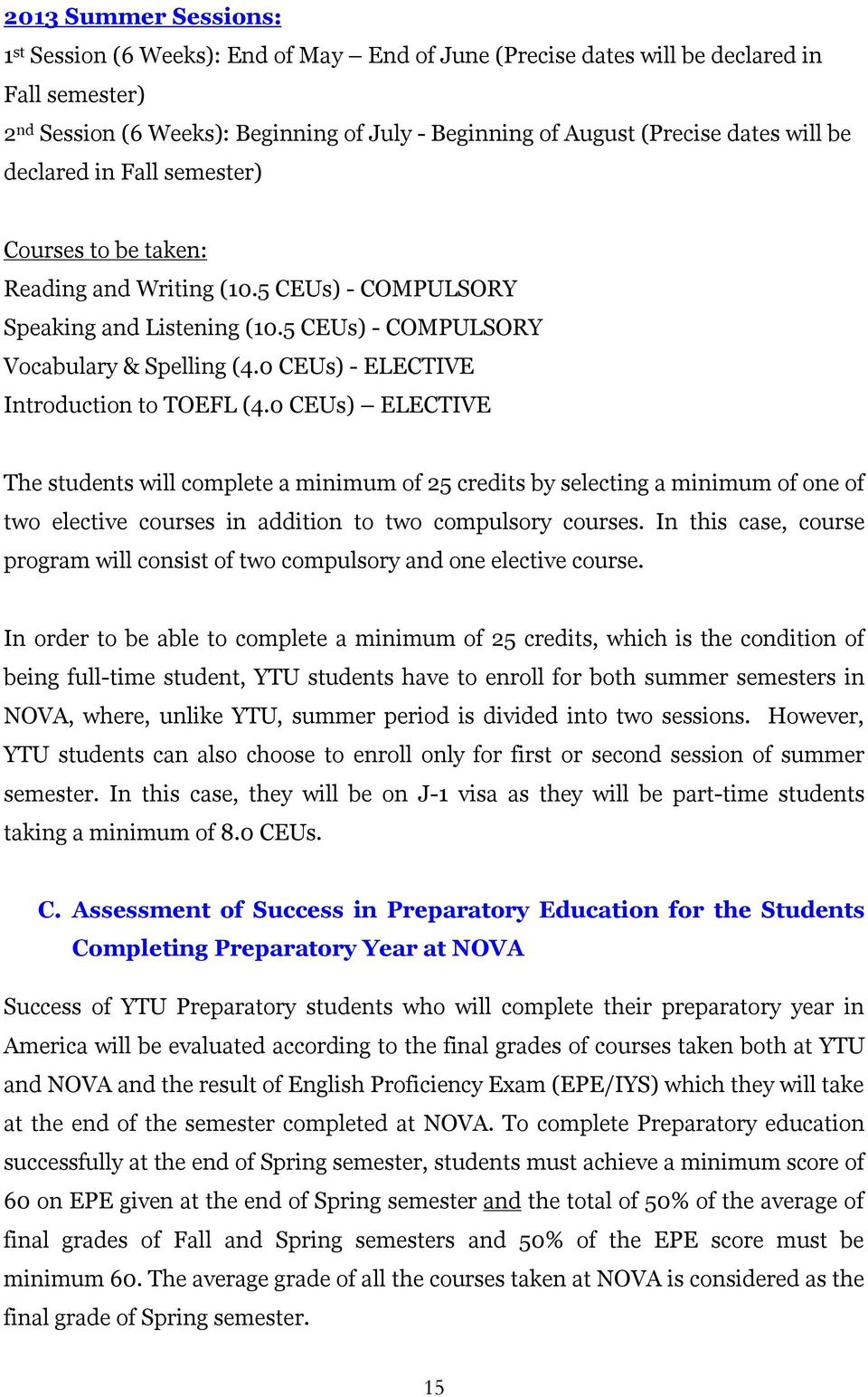 0 CEUs) - ELECTIVE Introduction to TOEFL (4.