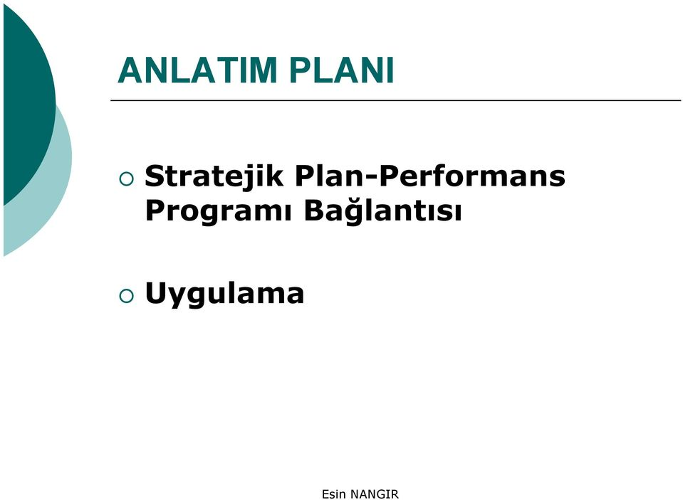 Plan-Performans