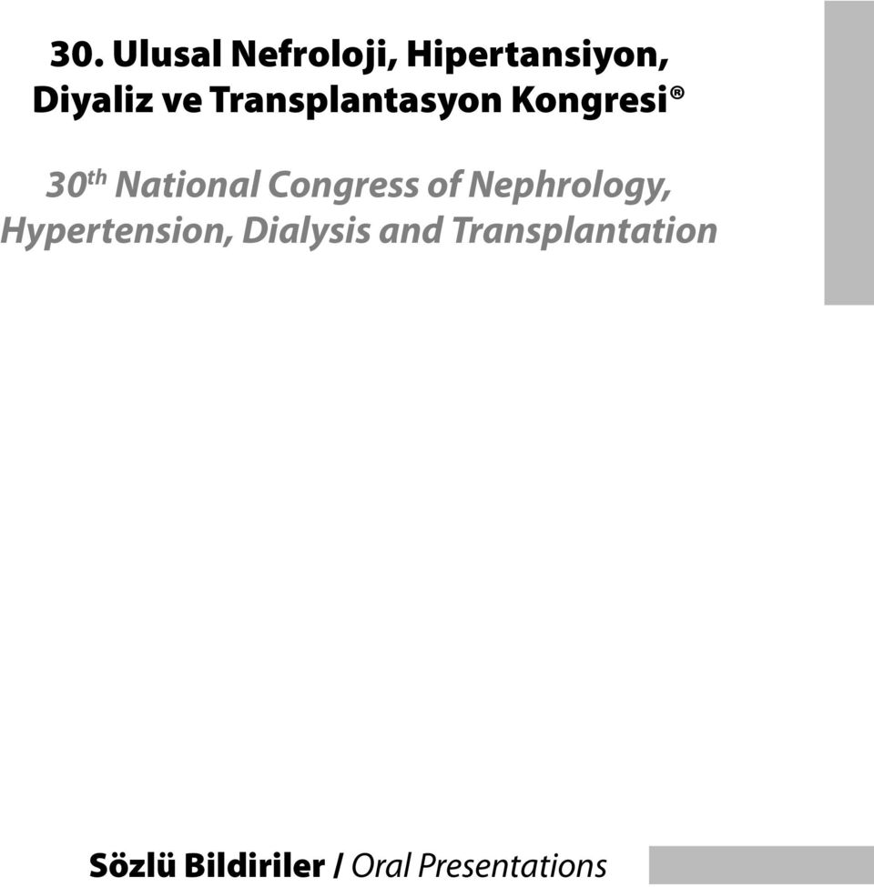 of Nephrology, Hypertension, Dialysis and