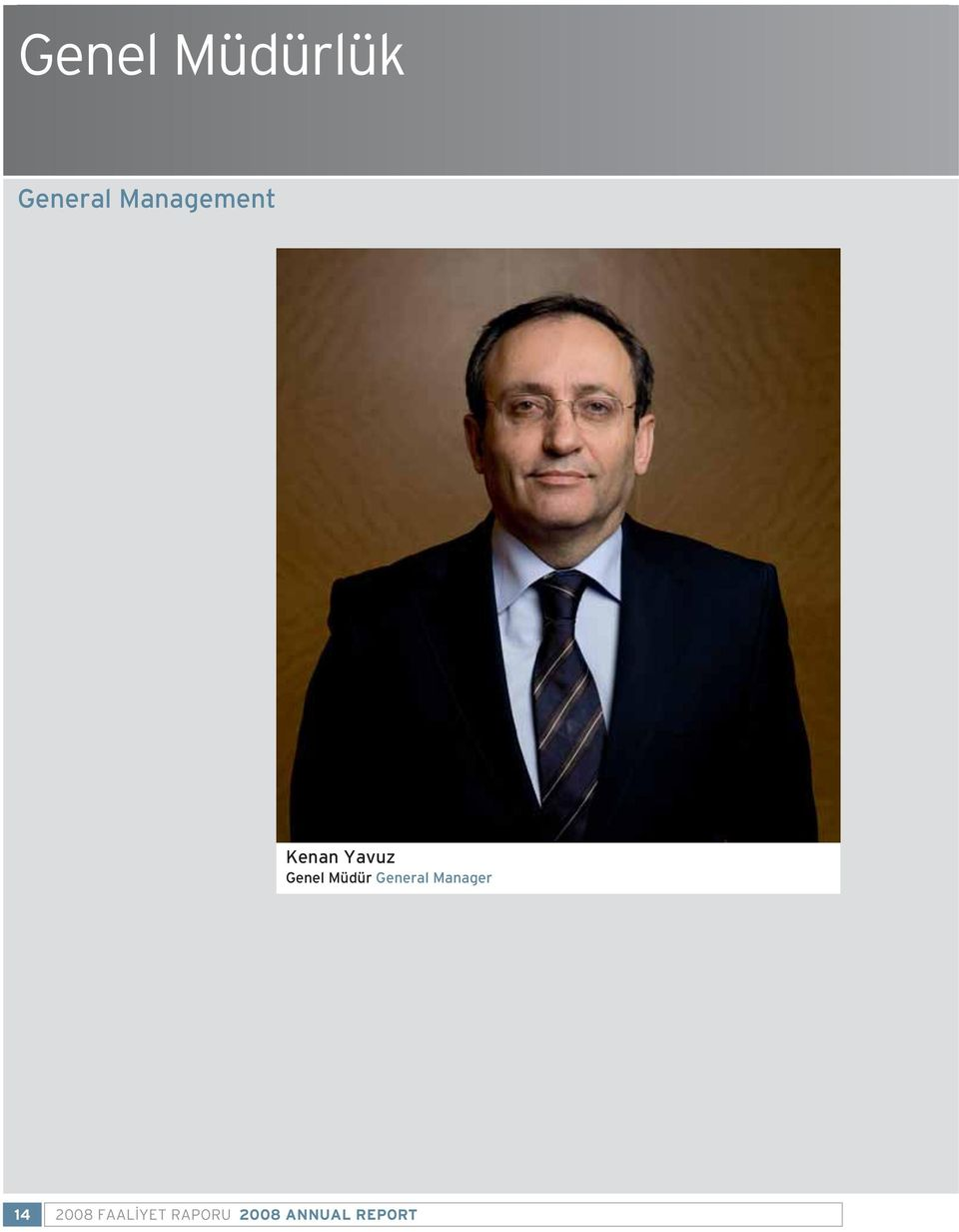 Müdür General Manager 14