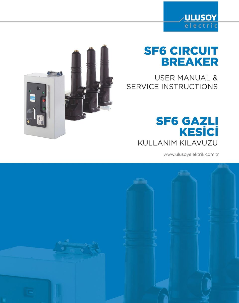 INSTRUCTIONS SF6 GAZLI
