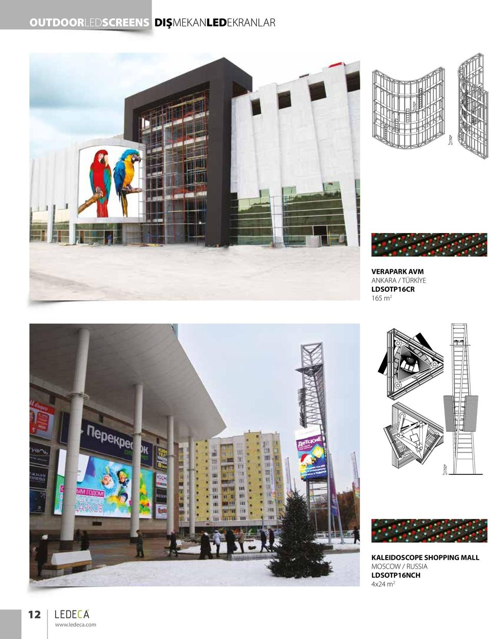 165 m 2 KALEIDOSCOPE SHOPPING MALL MOSCOW