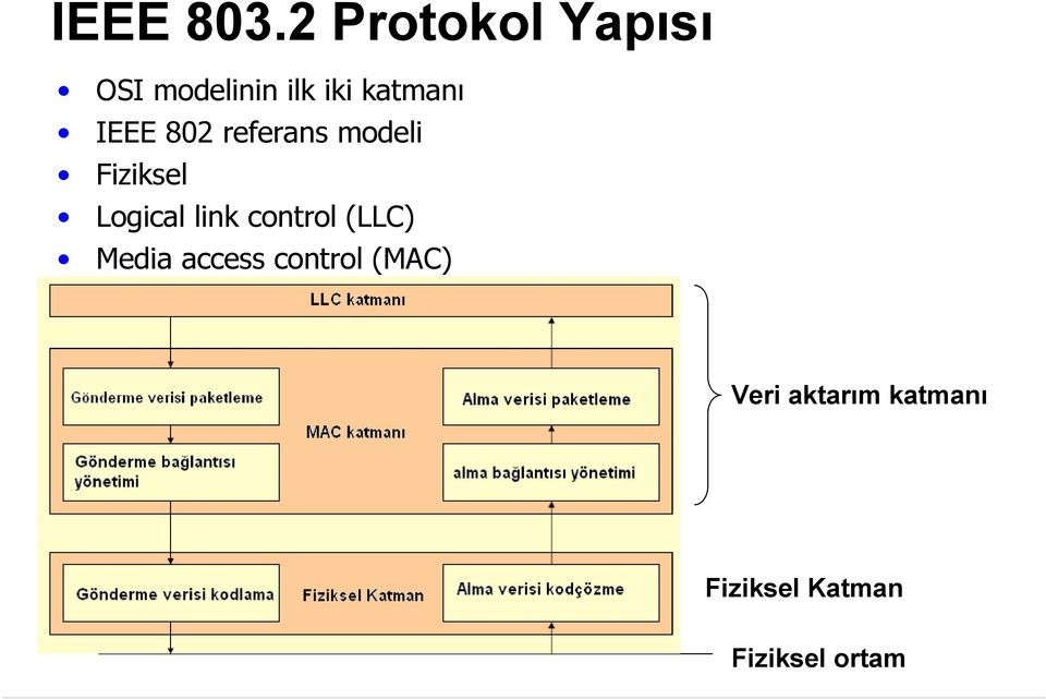 IEEE 802 referans modeli Fiziksel Logical link