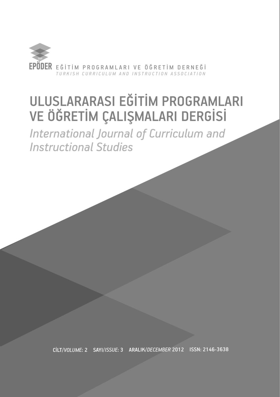ÇALI MALARI DERG S International Journal of Curriculum and