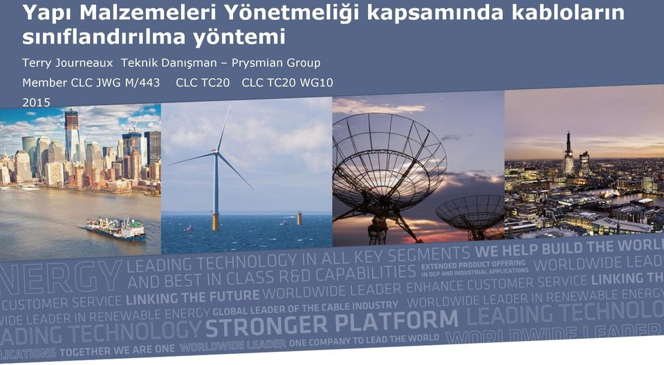 Journeaux Teknik Danışman Prysmian Group