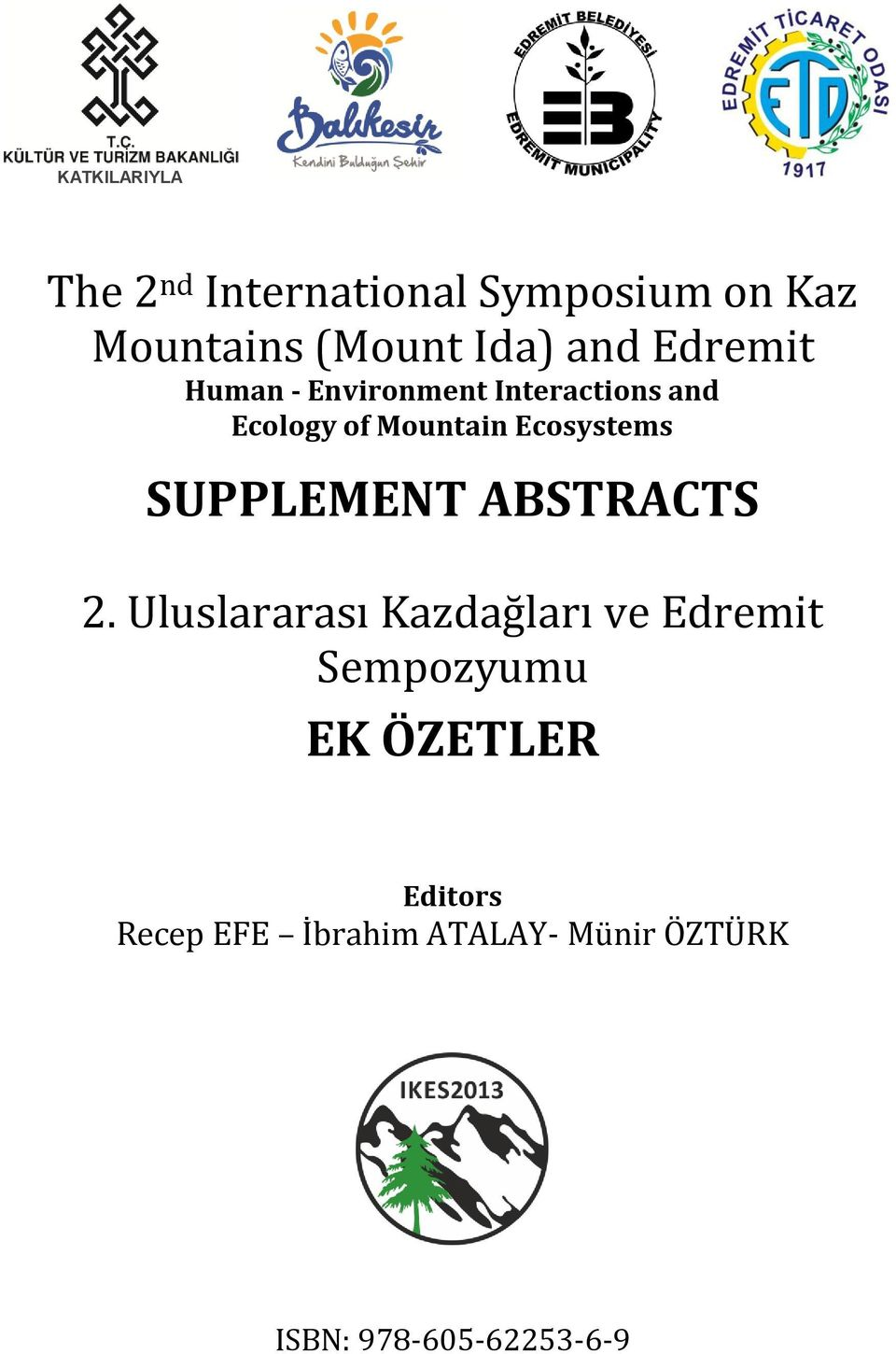 Ecosystems SUPPLEMENT ABSTRACTS 2.