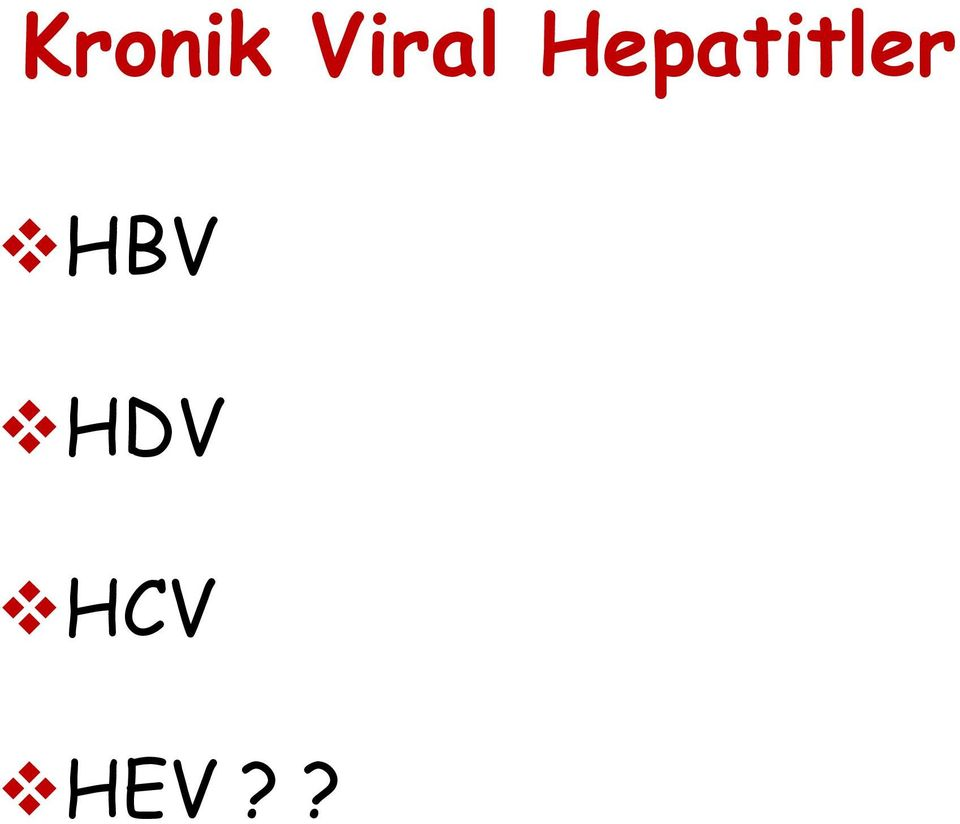 Hepatitler