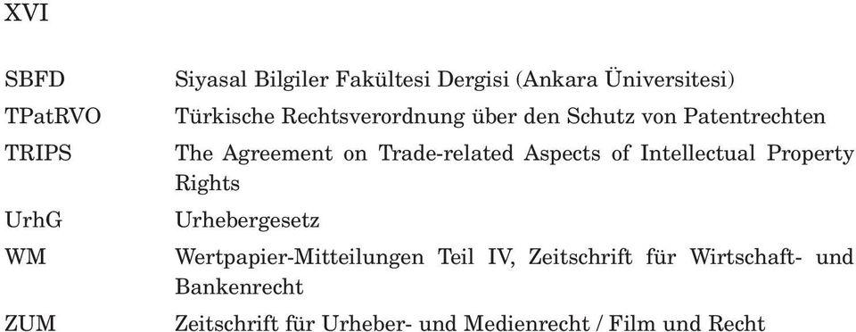 Aspects of Intellectual Property Rights Urhebergesetz Wertpapier-Mitteilungen Teil IV,
