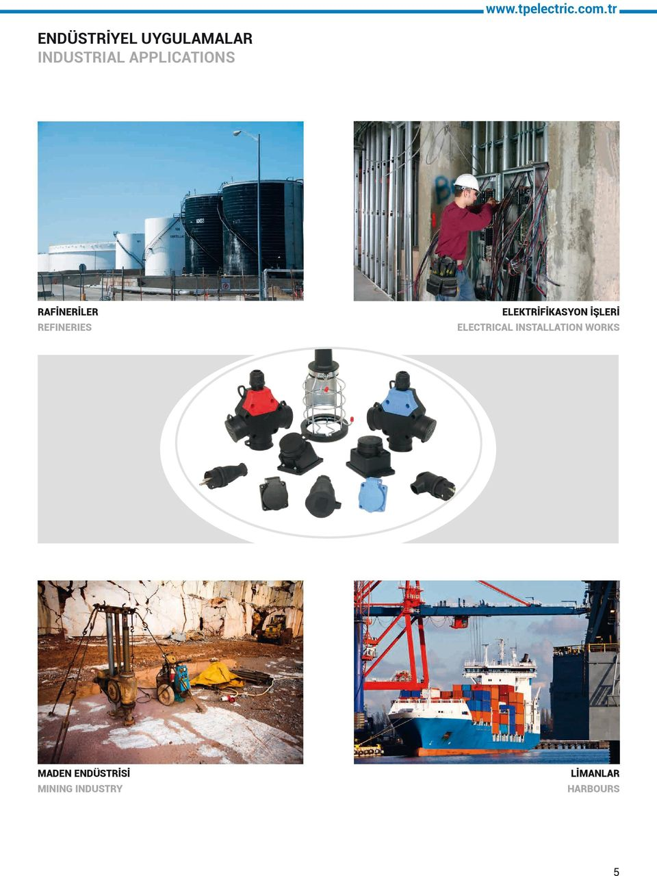 APPLICATIONS RAFİNERİLER REFINERIES