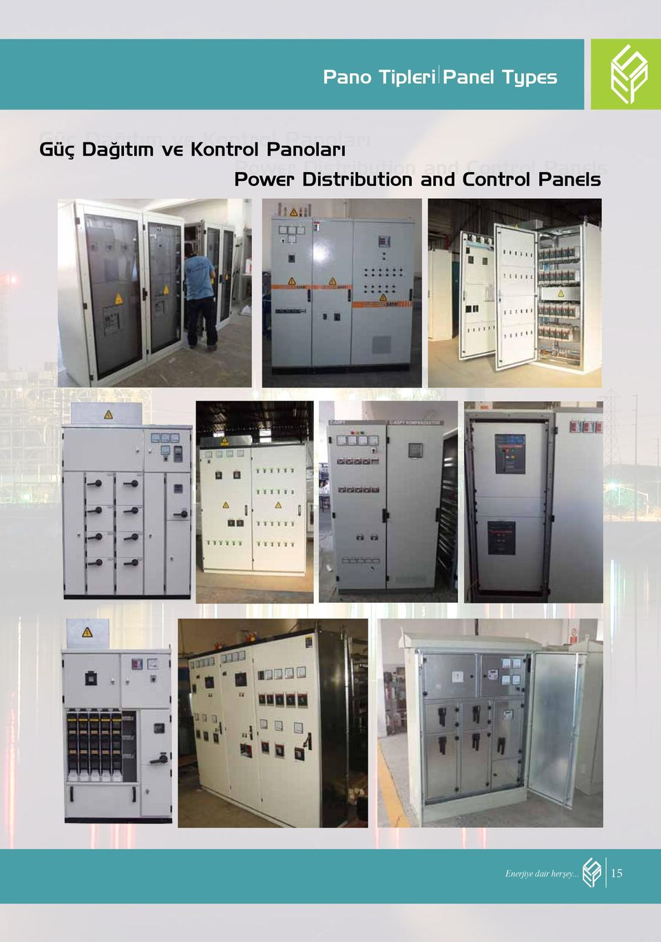 Distribution and Control Panels Power