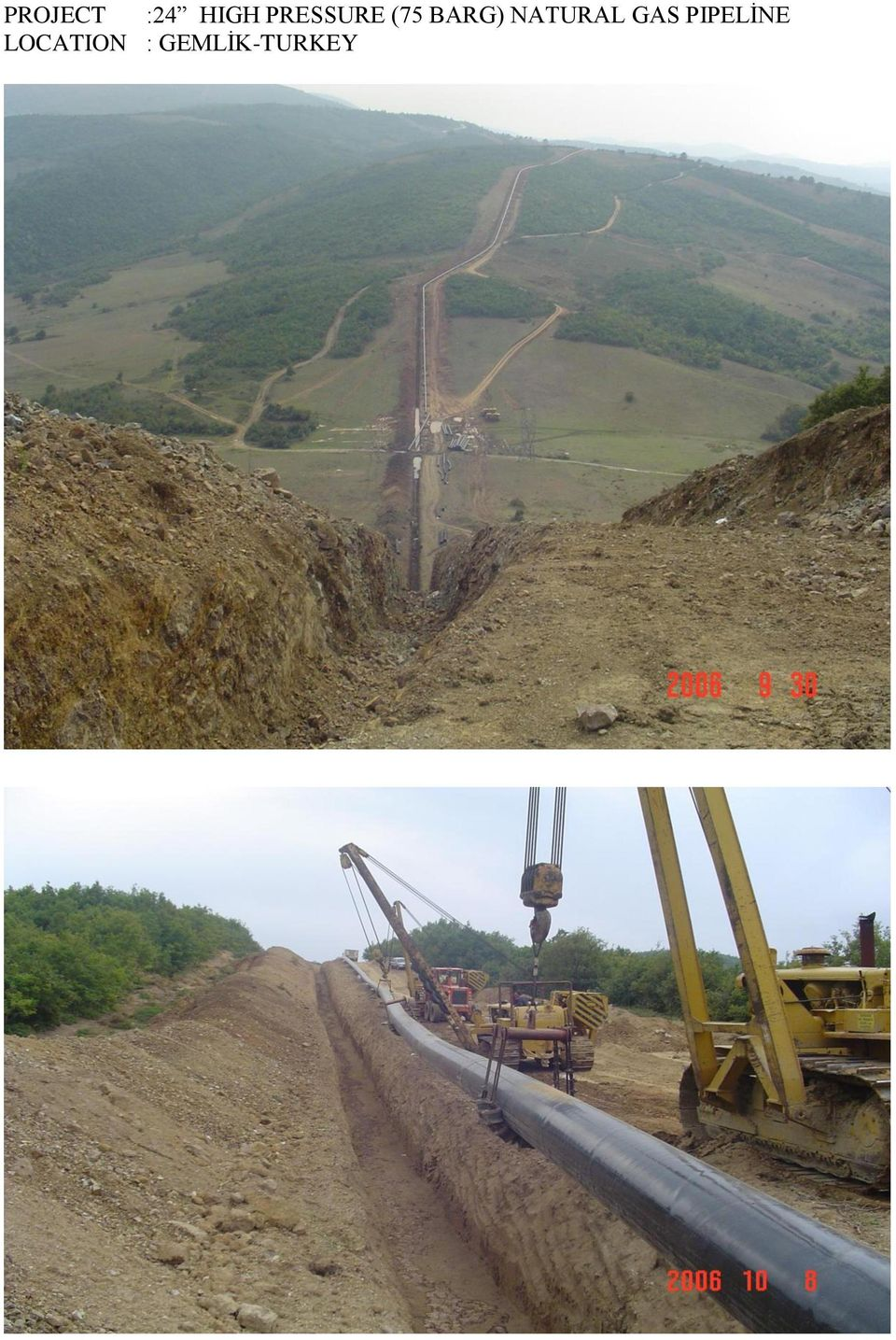NATURAL GAS PIPELİNE