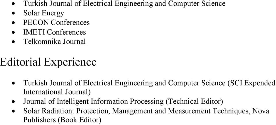 Computer Science (SCI Expended International Journal) Journal of Intelligent Information Processing