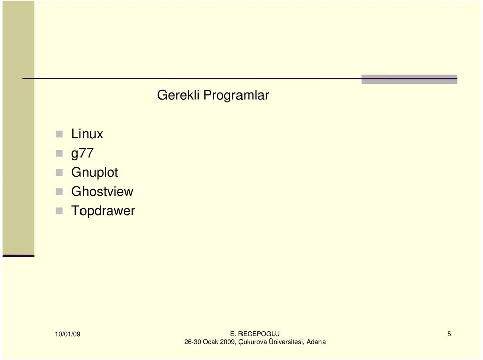 Linux g77